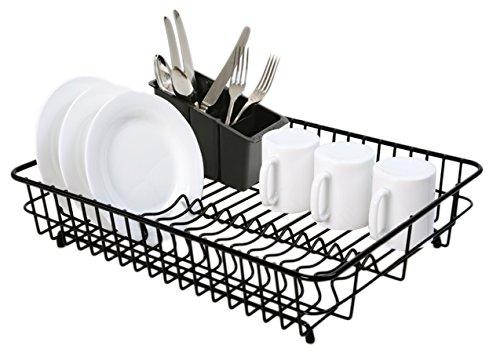 delfinware large drainer black. Black Bedroom Furniture Sets. Home Design Ideas