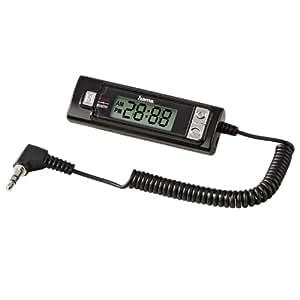 Hama RTR-100 FM-Transmitter für iPod, PDA, alle MP3-, CD-, oder Kassetten-Player, Computer oder Laptop schwarz