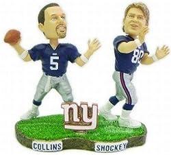New York Giants Kerry Collins & Jeremy Shockey Dual Bobblehead
