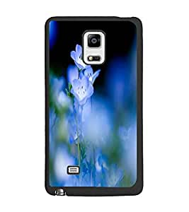 PrintDhaba Beautiful Flowers D-1206 Back Case Cover for SAMSUNG GALAXY NOTE EDGE (Multi-Coloured)