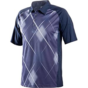 Oakley Believable Polo Men's Short-Sleeve Golf Shirt - Navy Blue / X-Large