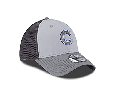 MLB Chicago Cubs Grayed Out NEO 39Thirty Stretch Fit Cap