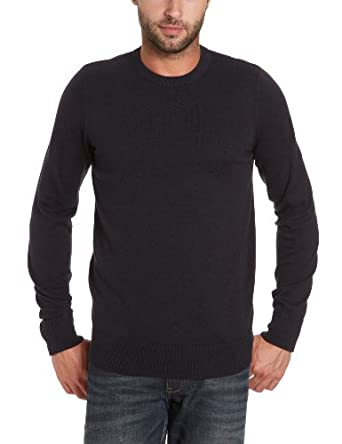 Jack and Jones Calmer O-Neck Men's Jumper Dark Blue Small