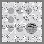"Creative Grids Quilting Ruler 4 1/2"" Square"