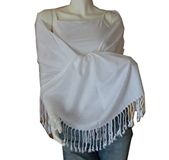 New Best Soft Pashmina/Shawl/Scarf/Wrap/Stole (white)