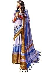 Lemoda Cotton Printed Handwooven Saree For Women MMUKE40164531720-70000041
