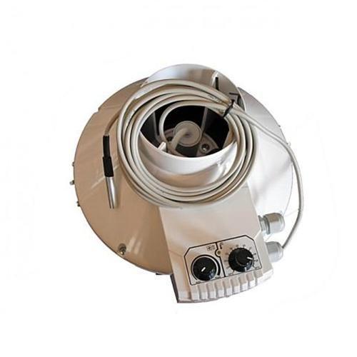 VK Serie, zentrifugaler Abluftventilator In Line Kabelkanal 200 mm 20.32 cm Durchmesser, TEMPERATUR- &Geschwindigkeitskontrolle günstig