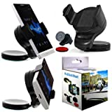 Wayzon Black 360° Rotation Car Windscreen Windshield Dash board Suction Mount Dock Cradle Universal Phone Holder For Sony CMD J70