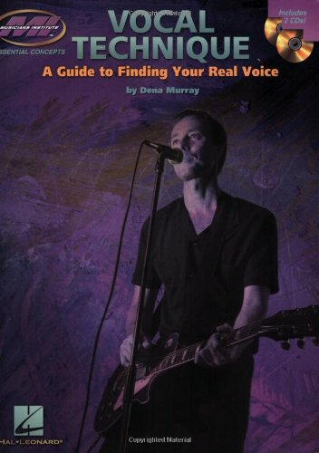 Vocal Technique - A Guide to Finding Your Real Voice: Book with Two CDs (Essential Concepts), , 063401319X