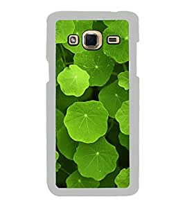 Green Leaves 2D Hard Polycarbonate Designer Back Case Cover for Samsung Galaxy J3 2016 :: Samsung Galaxy J3 2016 Duos :: Samsung Galaxy J3 2016 J320F J320A J320P J3109 J320M J320Y
