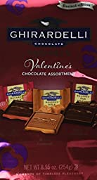 Ghirardelli Valentine\'s Limited Edition Squares Chocolate Assortment, 8.95 Ounce