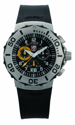 Luminox LU9125 F-16 Fighting Falcon Yellow Chrono