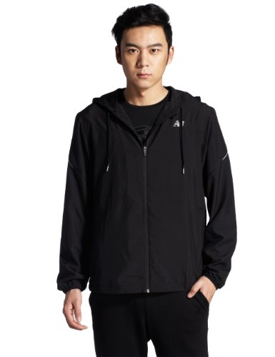 new balance men's sequence jacket black