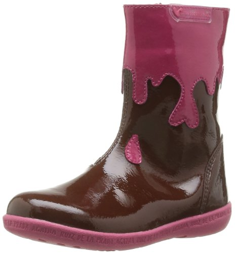 Agatha Ruiz De La Prada Girls Boots 131941 Brown 7 UK Child, 24 EU