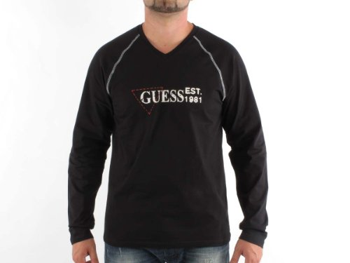 Guess Underwear Su34gss1040_g068t50_2000 Straight Black Man T-shirts Make Men - L