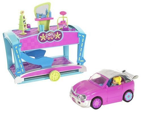 Polly Pocket Quik-Clik Car Cool Makeover Amazon.com