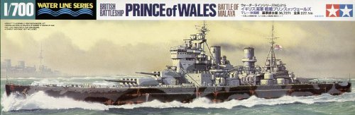 Tamiya 09 31615 Brit.Battleship Bat.of Mal.
