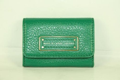 Marc By Marc Jacobs Marc Jacobs Too Hot To Handle Card Case in Soccer Pitch Green