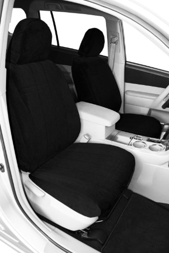 Covercraft SeatSaver Front Row Custom Fit Seat Cover for Select Chevrolet//GMC Models Polycotton Grey