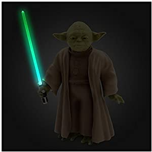 Official Disney Star Wars 26cm Talking Interactive Moving Yoda Doll