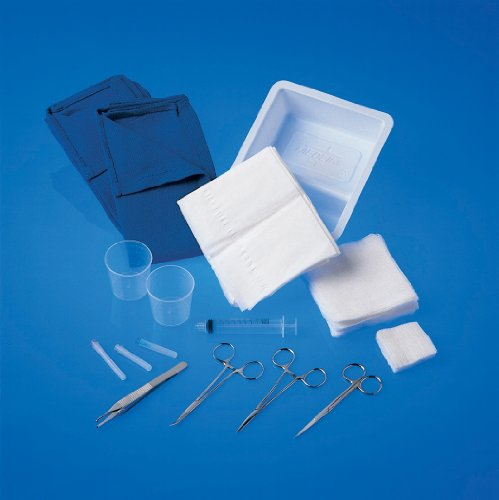 Tray, Laceration, Cloth Towels/drape
