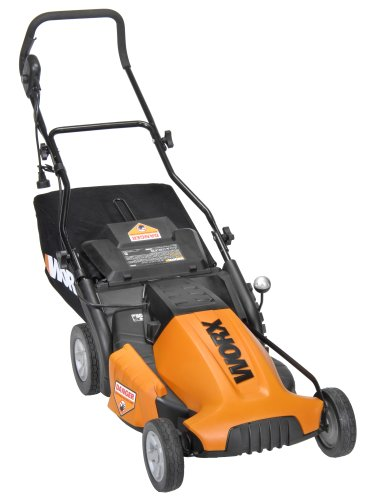 WORX WG718 19-Inch 13-Amp Mulching/Side Discharge/Bagging Electric Lawn Mower
