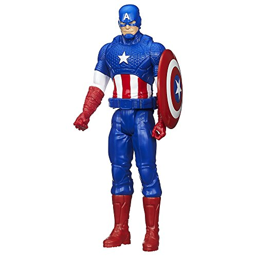 Marvel Avengers Titan Hero Series Captain America 12-Inch Figure