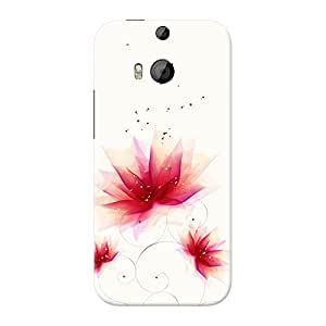Mobile Back Cover For HTC Desire One M8 dual sim (Printed Designer Case)