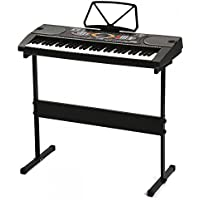 FDW 61 Key Electronic Music Keyboard Piano Organ with Stand