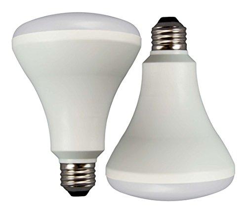 Tcp Rlbr3010W27Knd2 Led Br30 - 65 Watt Equivalent (10W) Soft White (2700K) Energy Star Flood Light Bulb 2 - Pack