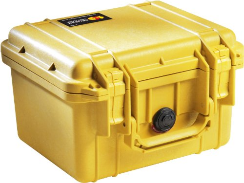 Pelican 1300 Case with Foam for Camera - YellowB00009XVKY