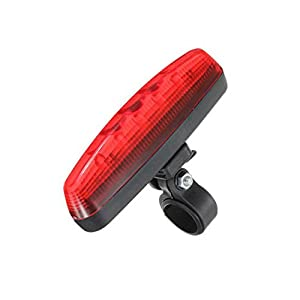 DAYISS®5-LED Cycling Bicycle Bike 8 Modes Laser Caution Safety Warning Rear Tail Light