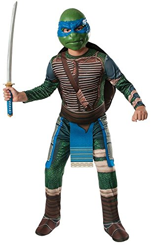 Teenage Mutant Ninja Turtles Leonardo Mens Costume Movie Tv Superhero