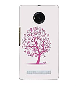 MICROMAX YU YUPHORIA TREE Designer Back Cover Case By PRINTSWAG