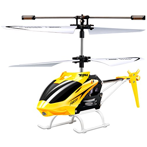 Syma W25 Remote Control Helicopter Shatterproof RC Helicopter-Yellow (Remote Helicopter Outdoor compare prices)