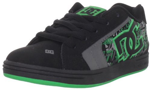 DC Shoes Junior Net Se Youth B Black/Emerald/Black Casual Shoe D0302365B 13 Child UK, 32 EU, 1 US