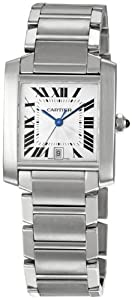 Cartier Men's W51002Q3 Tank Francaise Automatic Watch from Cartier