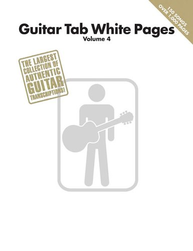 Guitar Tab White Pages Volume 4