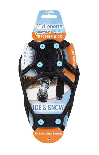 Due North CRD-S/M Everyday Snow & Ice Shoe Traction