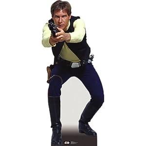 Life Size Star Wars Han Solo Cardboard Cutout