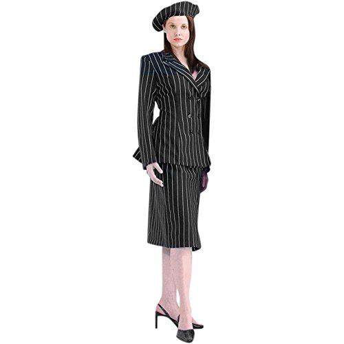 Women's Deluxe Bonnie and Clyde Costume (Large)