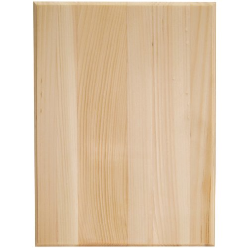 Walnut Hollow Pine Rectangle Plaque, 9 by 12 by 0.63-Inch (Wood Board compare prices)