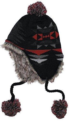 fox-outdoor-perou-ica-cap-noir-rouge