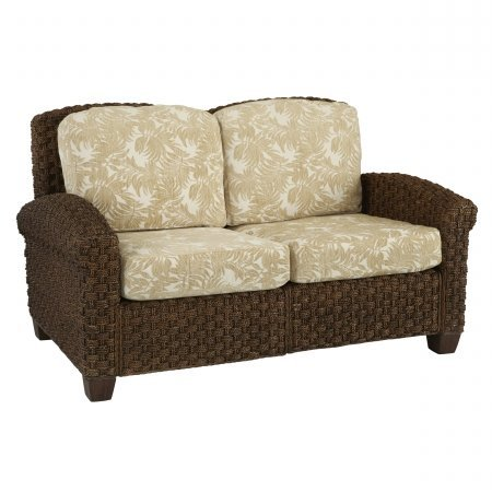 Cabana Banana II Love Seat Cinnamon Finish