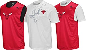 Chicago Bulls Adidas Youth Tip-Off T-Shirt Combo (X-Large)