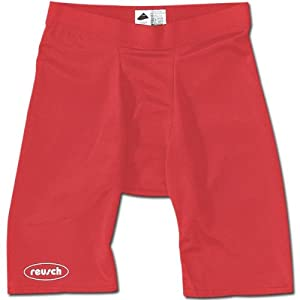 Reusch 29200 Compression Short (Red - Youth Small)