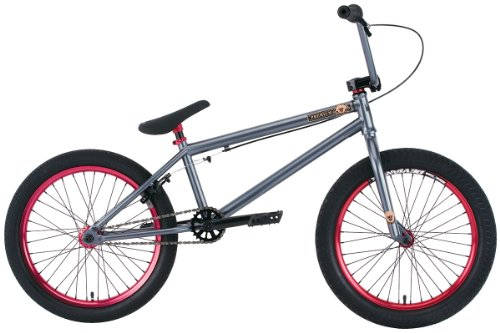 Premium Solo + 20.5In BMX Bike Sg Charcoal Grey 20
