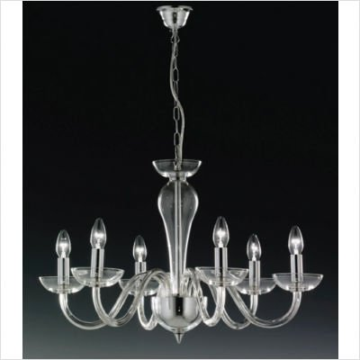 Oxford Six Light Candle Chandelier