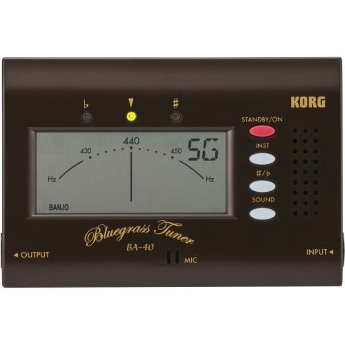 Korg BA40 Bluegrass Tuner for Mandolin, Fiddle,