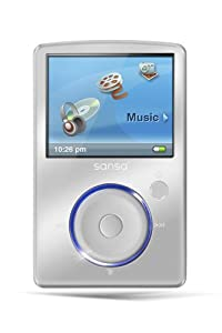 SanDisk Sansa Fuze 8 GB Video MP3 Player (Silver)